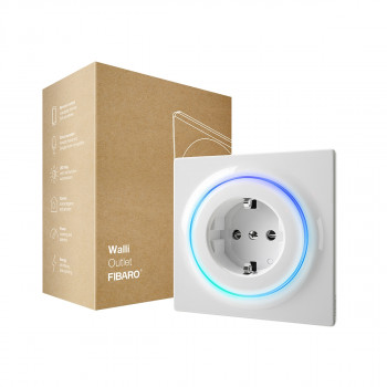 Prise intelligente encastrée Z-Wave+ - Walli Outlet Type F - Fibaro