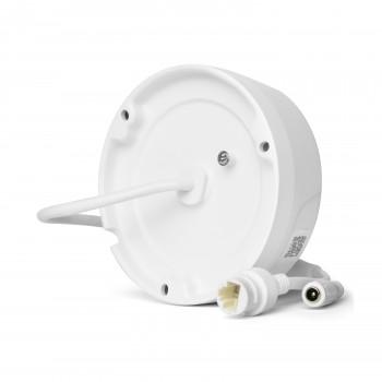 Caméra dôme IP PoE 6MP anti-vandalisme et objectif varifocale - HiWatch Hikvision
