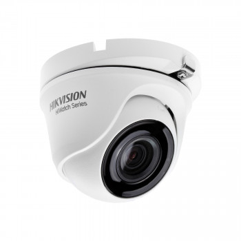 Caméra dôme extérieure HDTVI 2MP - Infrarouge 20m - Objectif 6mm - Hikvision