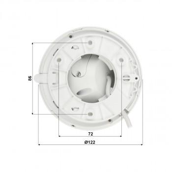 Caméra dôme IP 2MP IR 50m Eyeball WizSense - Dahua