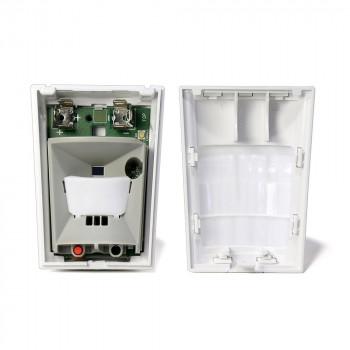 Détecteur de mouvement et surveillance de température sans fil - Alarme Visonic