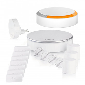 Alarme maison connectée Somfy Protect Home Alarm Starter - Kit 4