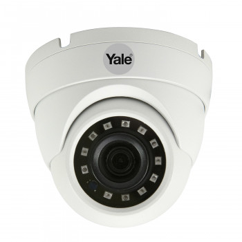 Caméra dôme filaire 1080p pour kit de vidéosurveillance Yale Smart Living