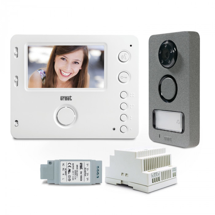 Kit interphone vidéo Mini Note 2 - Urmet