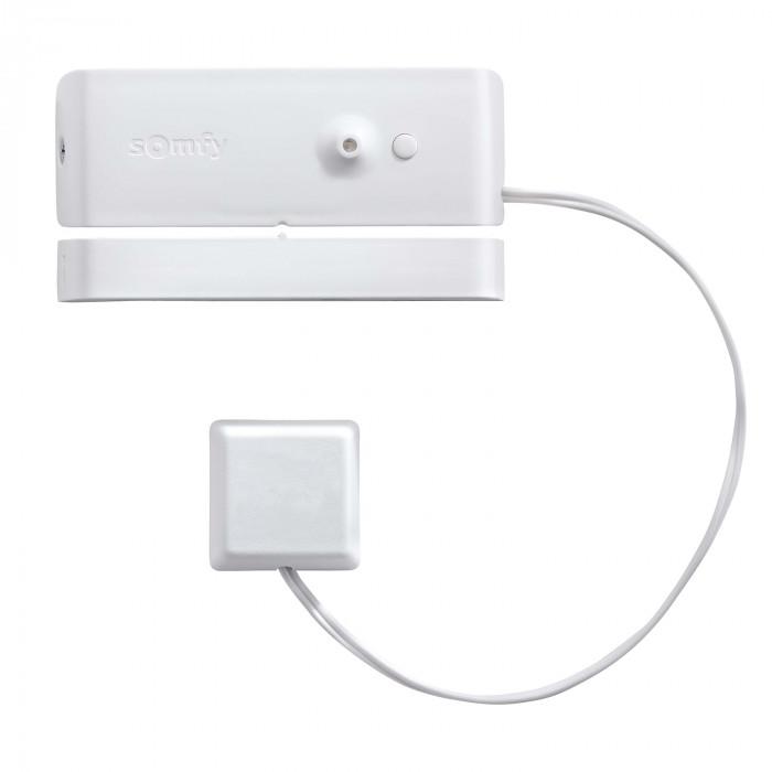 Détecteur d'ouverture et de bris de vitre blanc - Somfy Protexiom