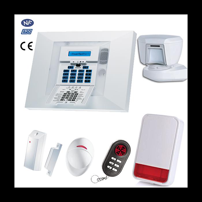 Alarme Visonic Powermax PRO Kit 5