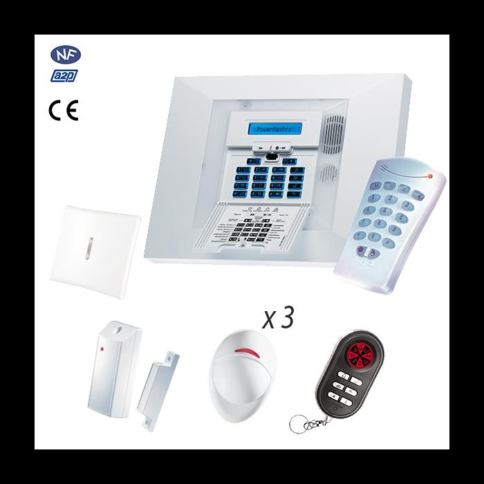 Alarme Visonic Powermax PRO 7