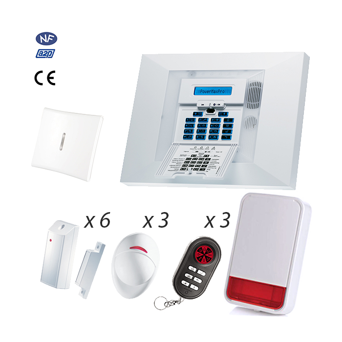 Alarme Visonic Powermax PRO 14