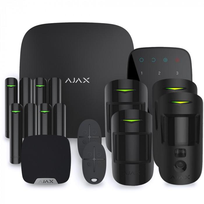 Alarme maison sans fil Ajax Hub 2 - Kit 4