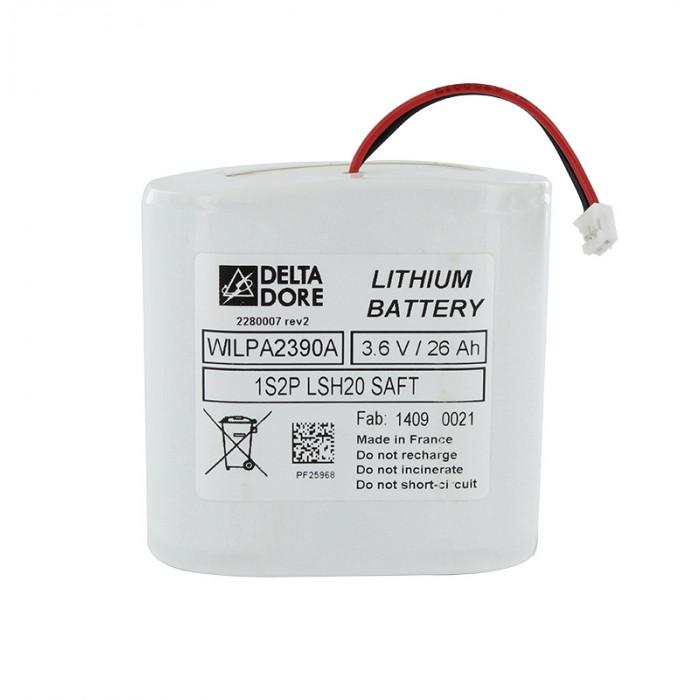 Batterie pour centrale et sirène intérieure / extérieure - Alarme Delta Dore Tyxal +