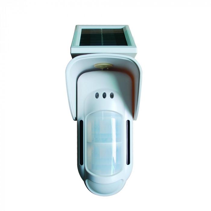 Détecteur Exterieur SOLAIRE bi-volumétrique - iProtect - FT-89RS