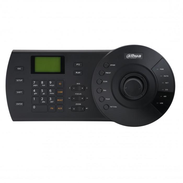 Clavier de contrôle avec joystick 3D - RS-485 et IP - Dahua