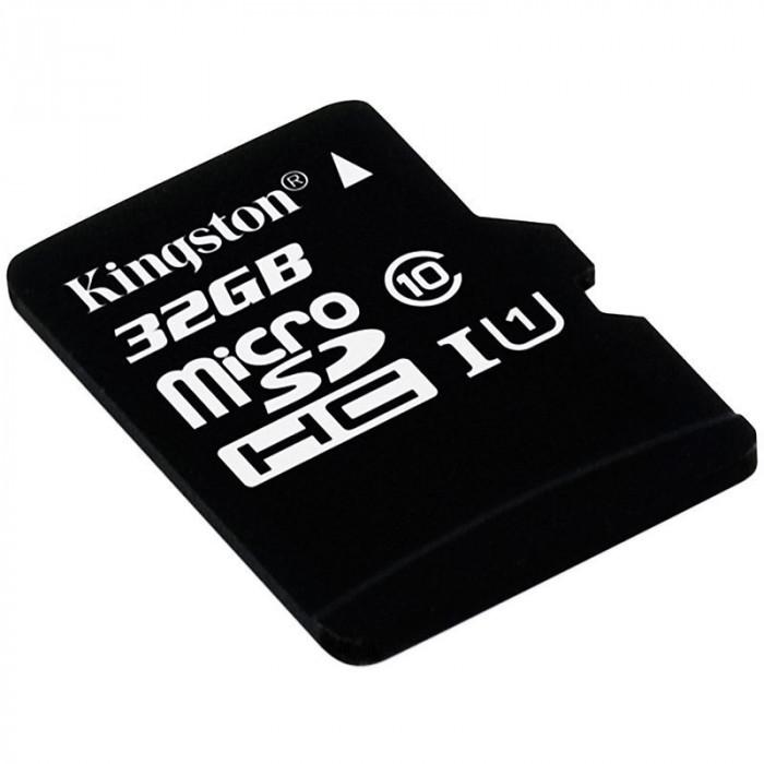 Carte microSDHC - 16 Go avec Adaptateur pour caméra - Kingston