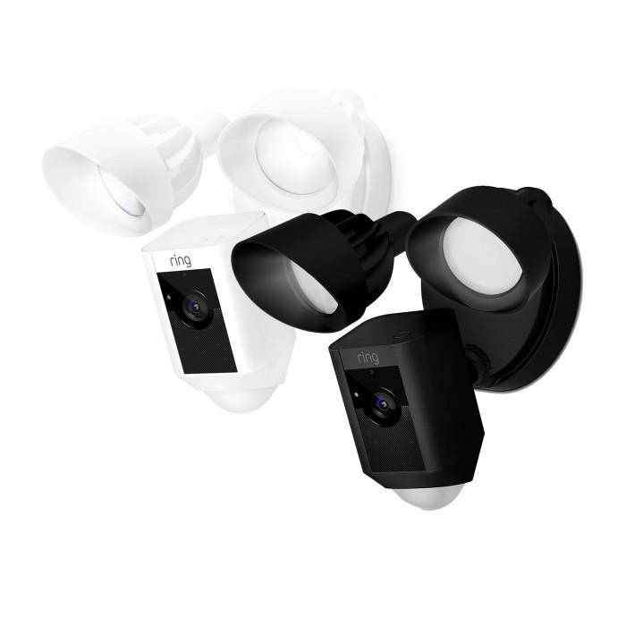Caméra extérieure avec détecteur, projecteur et sirène - Floodlight Cam - Ring