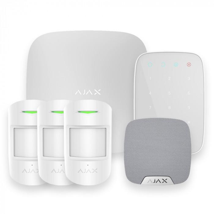 Alarme maison sans fil Ajax AJ-HUBKIT-PRO-KS