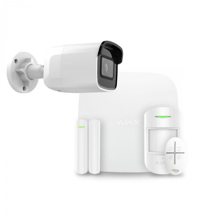 Alarme maison sans fil Ajax + Caméra IP Safire AJ-HUBKIT-W-CAM