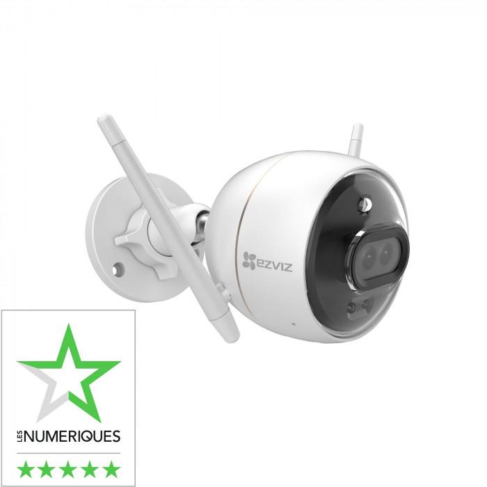 Caméra IP wi-fi extérieure à double objectif et IA intégrée C3X - Ezviz par Hikvision