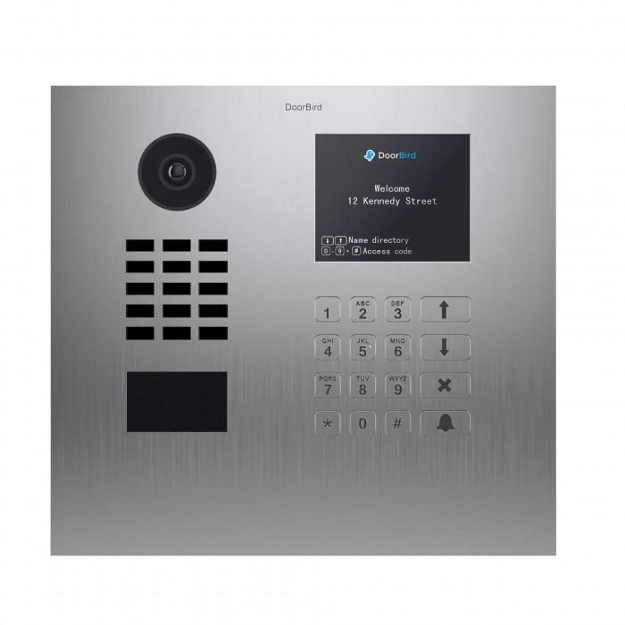 Portier vidéo IP Multi-locataires - Doorbird D21DKH Inox