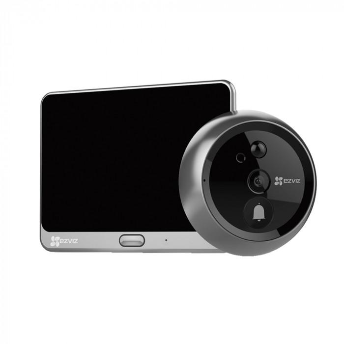 Sonnette connectée et judas vidéo DP1C - Ezviz par Hikvision