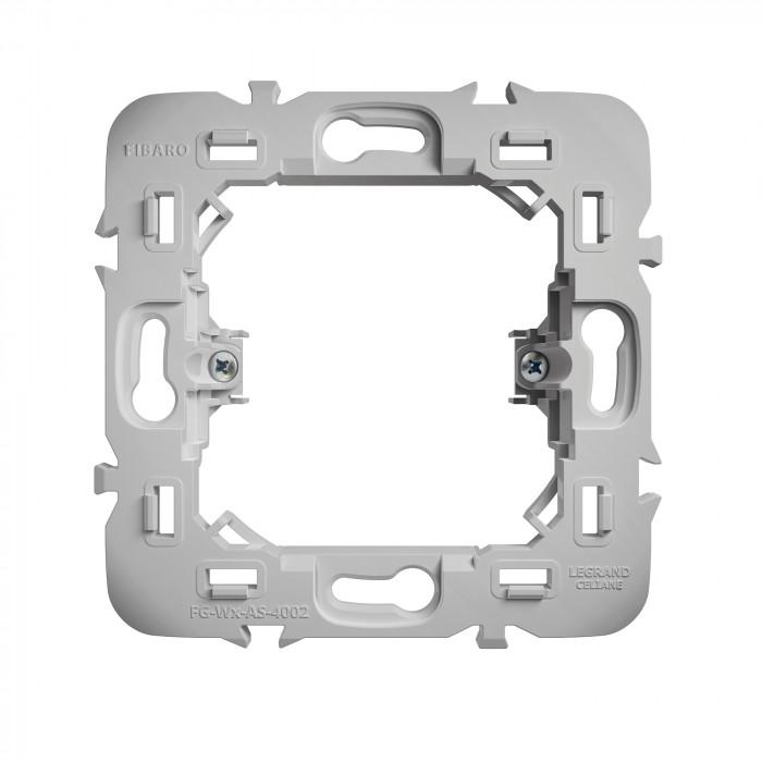 Adaptateur pour montage de modules Walli sur façades Legrand - Fibaro