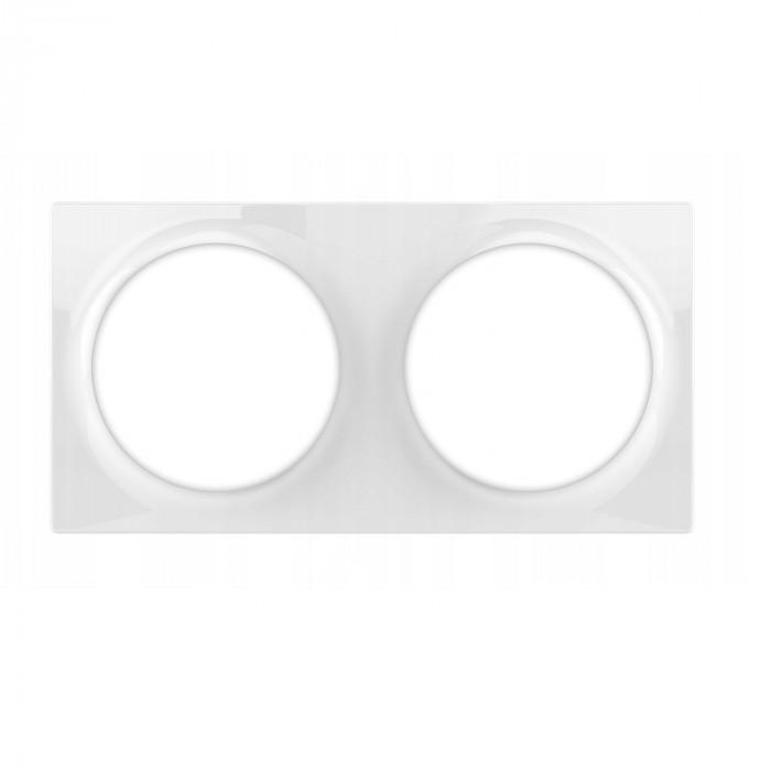 Plaque de finition double pour interrupteur / prise Walli - Fibaro