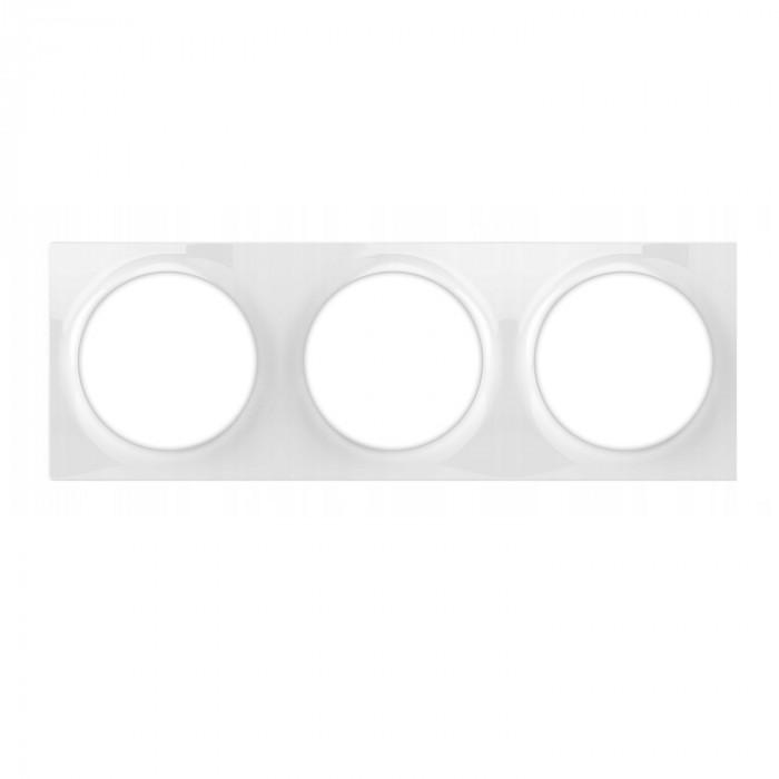 Plaque de finition triple pour interrupteur / prise Walli - Fibaro