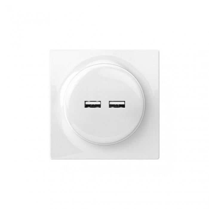 Prise encastrée USB - Gamme Walli N - Fibaro