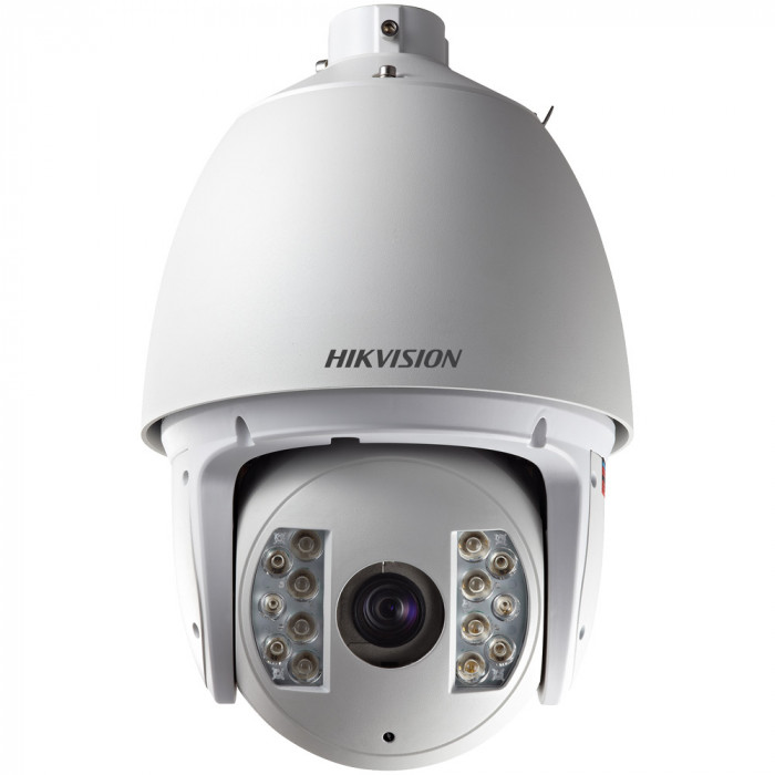 Caméra IP dome PTZ HD infrarouge 150m - 1.3 Mp - Hikvision