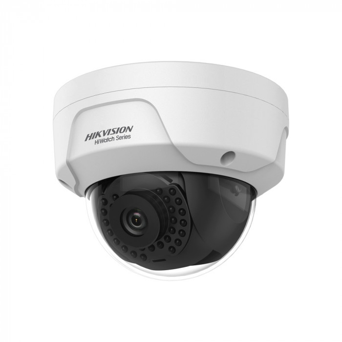 Caméra dôme IP 4MP infrarouge 30m anti-vandalisme - Hikvision