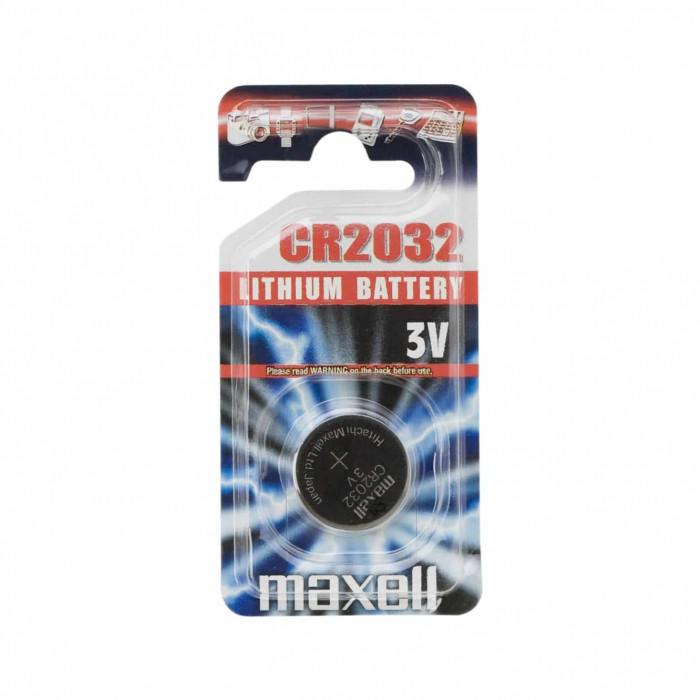 Pile bouton CR2032 lithium 3V