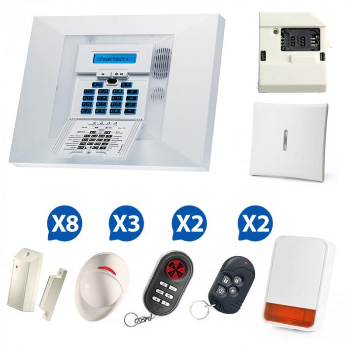 Alarme GSM Visonic PowerMax Pro - 03