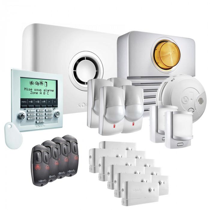 Alarme maison Protexiom Ultimate GSM Kit 5 - Somfy
