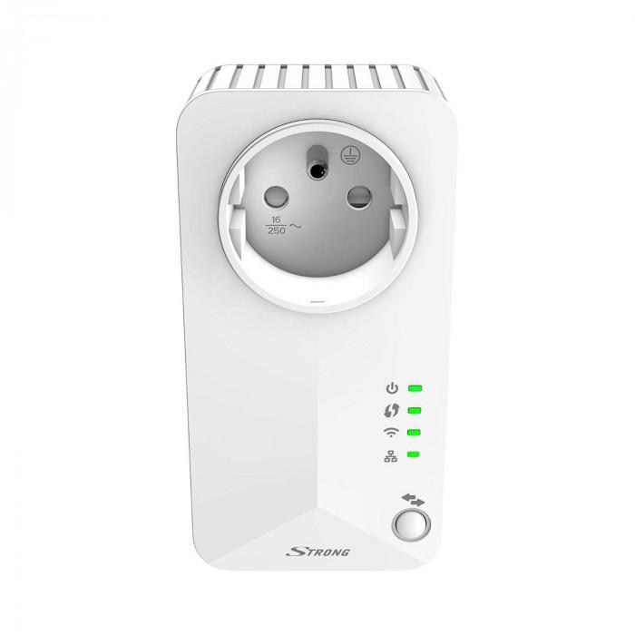 Point d'accès et répéteur universel Wi-Fi avec prise gigogne - Strong