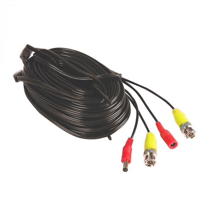 Câble BNC vidéo et alimentation 18m - Yale Smart Living