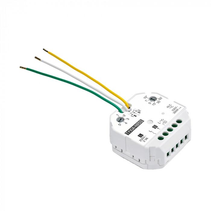 Récepteur variateur avec minuterie pour éclairage dimmable - Sans neutre - Delta Dore