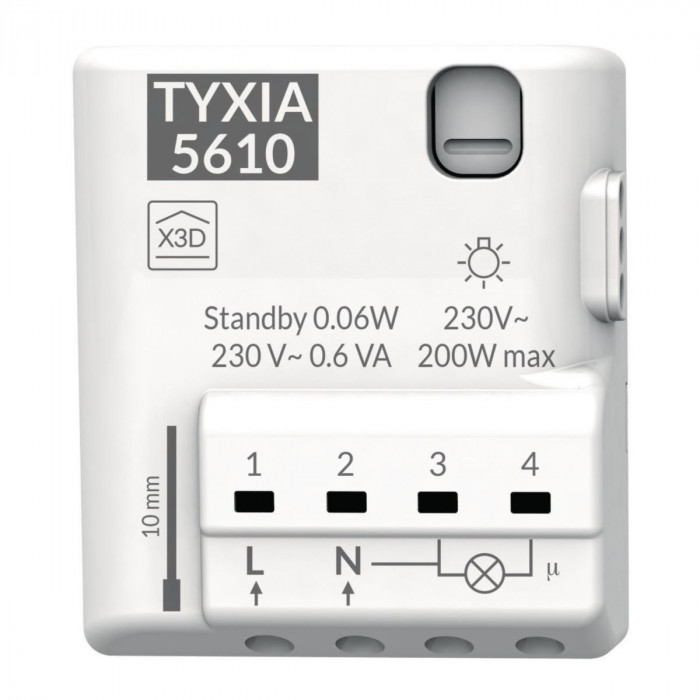 Nanomodule pour éclairage ou interrupteur connecté - Delta Dore