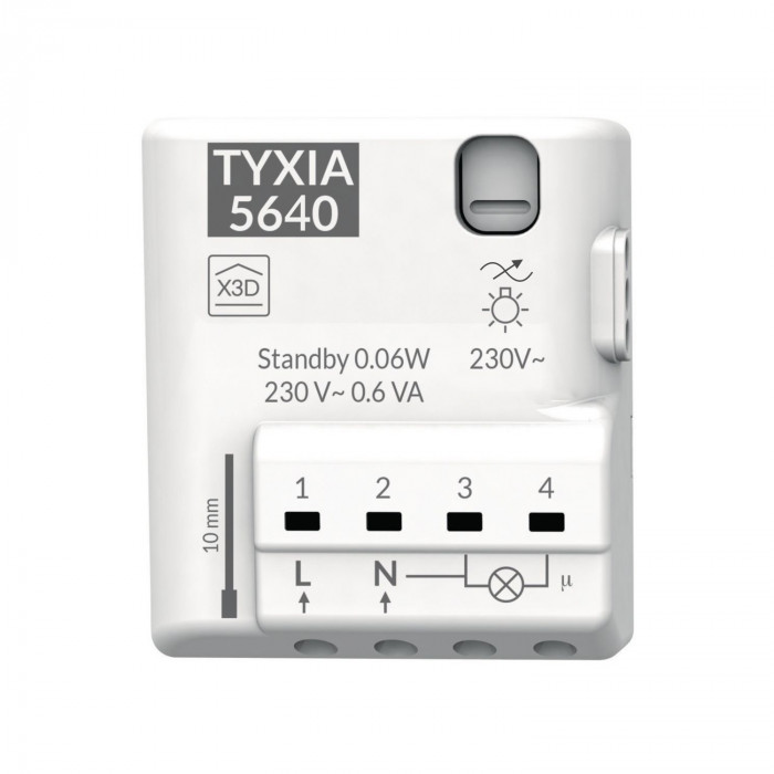 Récepteur variateur d'éclairage connecté - Delta Dore