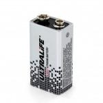 Pile lithium (9V) - Ultralife