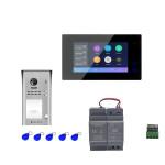 """Kit portier vidéo wifi avec clavier à code et moniteur 7"""" - DIGI7BW - Digitone by Gates"""
