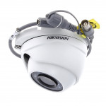 Caméra dôme infrarouge 20m - Turbo HD 1080P - Hikvision