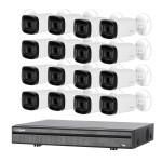 Kit de vidéosurveillance enregistreur + 16 caméras compactes - 1080p - Dahua