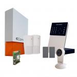 Pack alarme connectée Secur Hub IP + Module GSM 3G + Caméra Wifi HD - Comelit