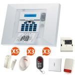 Alarme GSM Visonic PowerMax Pro - Kit 8 +