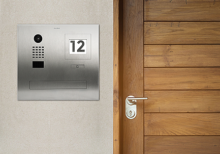Interphone vidéo Doorbird portier IP