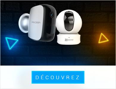 Caméra de surveillance avec générateur alerte radio