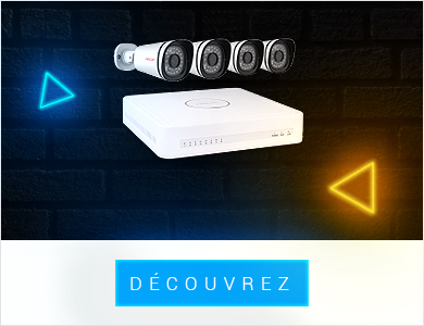 Box de videosurveillance et générateur brouillard
